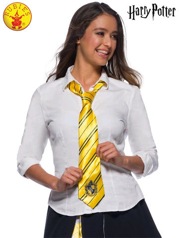 HUFFLEPUFF HARRY POTTER TIE, CHILD SIZE
