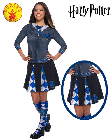 RAVENCLAW COSTUME SKIRT, ADULT