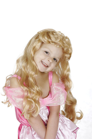 SLEEPING BEAUTY WIG CHILD