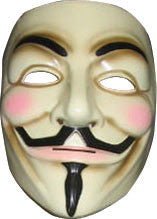 V FOR VENDETTA MASK, ADULT