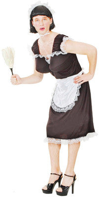Funny Man Frenchmaid Costume, Adult