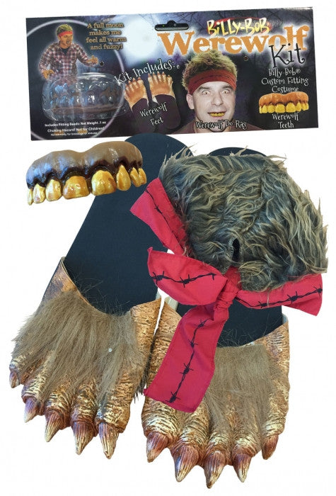 Billy Bob Werewolf Kit - Adult