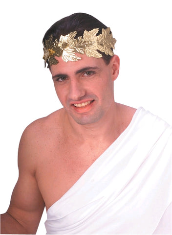 ROMAN WREATH GOLD HEADPIECE, ADULT SIZE