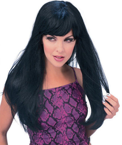 GLAMOUR BLACK WIG ADULT