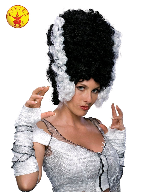 MONSTER'S BRIDE HALLOWEEN WIG, ADULT