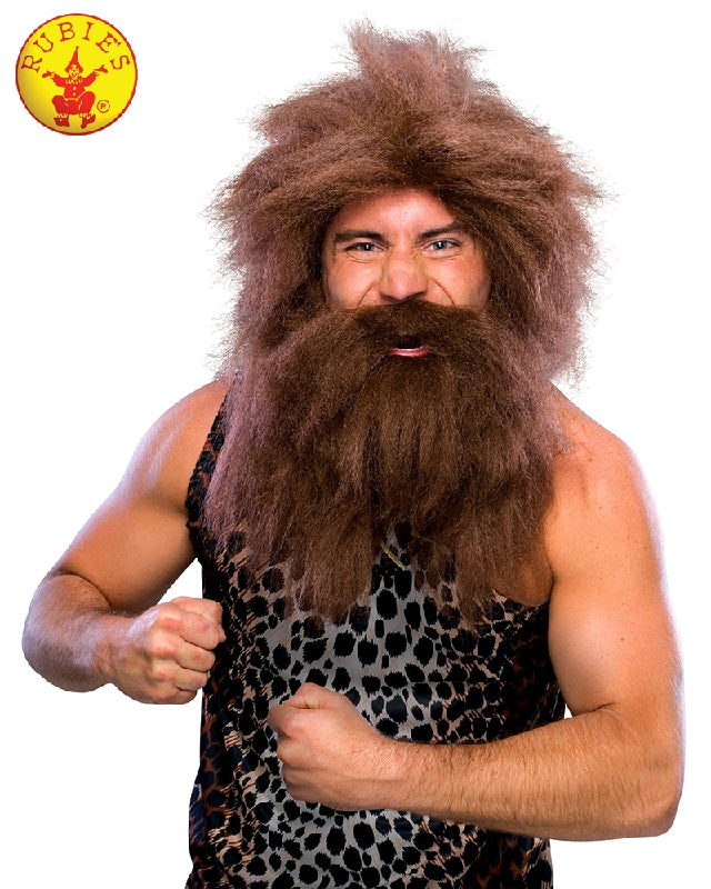 CAVEMAN WIG & BEARD ADULT