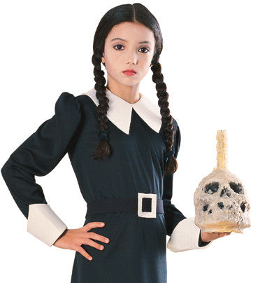 WEDNESDAY ADDAMS FAMILY WIG, CHILD