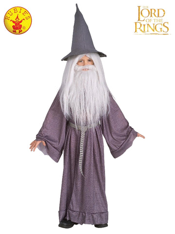 GANDALF WIG AND BEARD KIT, CHILD SIZE