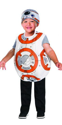 BB-8 STAR WARS DROID COSTUME, CHILD - SIZE TODDLER