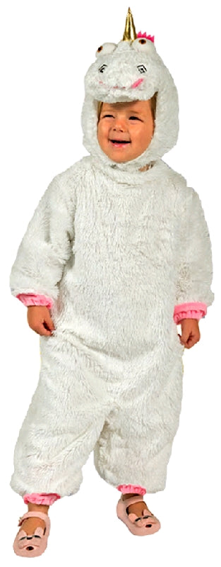 FLUFFY UNICORN COSTUME - SIZE TODDLER