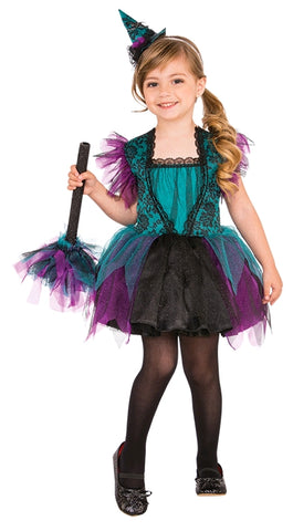 BEWITCHING WITCH COSTUME, CHILD - SIZE S