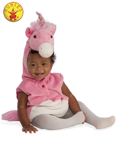 BABY UNICORN FURRY COSTUME - SIZE TODDLER
