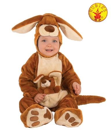 KANGAROO FURRY COSTUME, CHILD - SIZE S
