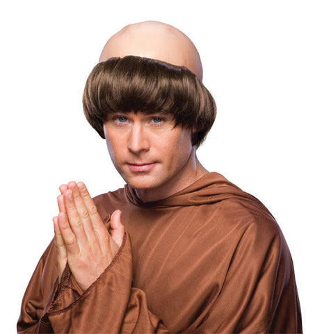 RELIGIOUS MONK COSTUME WIG, ADULT