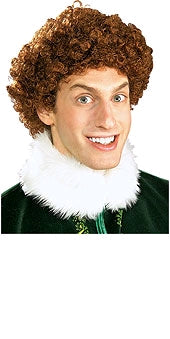 BROWN BUDDY WIG FROM 'THE ELF', ADULT