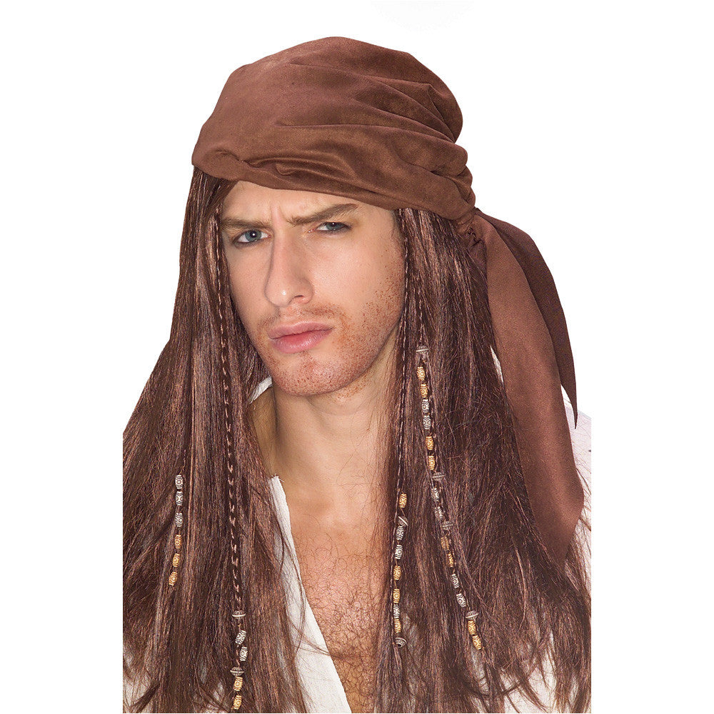CARIBBEAN PIRATE WIG, ADULT