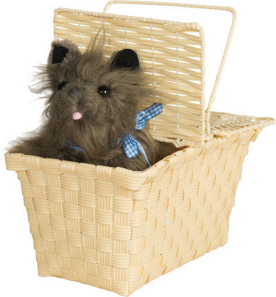 TOTO IN A BASKET, DOROTHY WIZARD OF OZ ACCESSORY