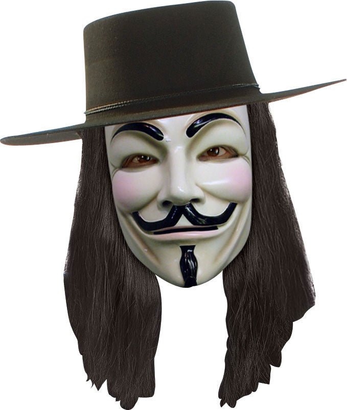 V FOR VENDETTA WIG ADULT