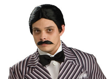 GOMEZ WIG & MOUSTACHE ADULT