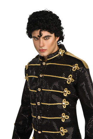 MICHAEL JACKSON CURLY WIG ADULT