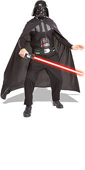 DARTH VADER ADULT SET WITH  LIGHTSABRE - SIZE STD