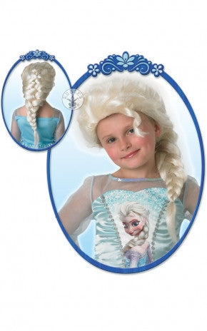 ELSA FROZEN WIG CHILD