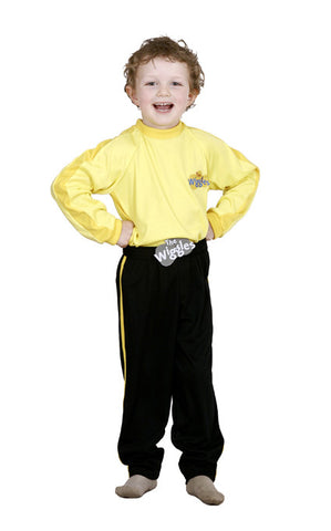 YELLOW WIGGLES, CHILD - SIZE 2-4