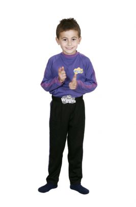 PURPLE WIGGLES COSTUME, CHILD - SIZE 2-4