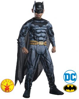 BATMAN DIGITAL PRINT DELUXE COSTUME, CHILD - SIZE 6-8