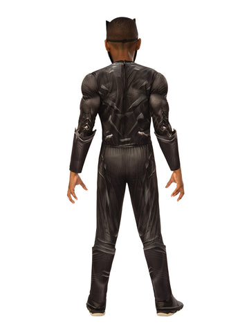 BLACK PANTHER DELUXE COSTUME, CHILD - SIZE S