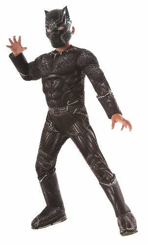 BLACK PANTHER DELUXE, CHILD - SIZE S