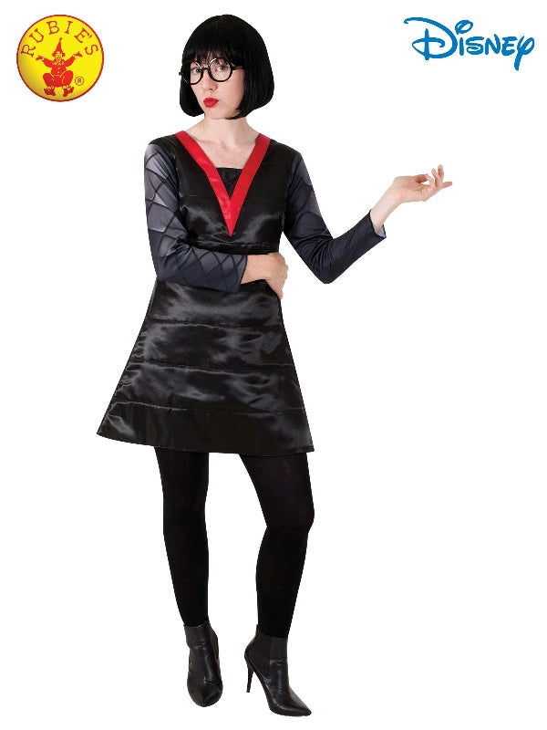 EDNA MOLE INCREDIBLES COSTUME, ADULT - SIZE M