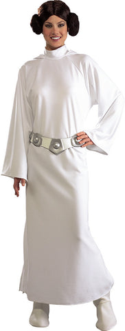 PRINCESS LEIA DELUXE COSTUME, ADULT - SIZE STD