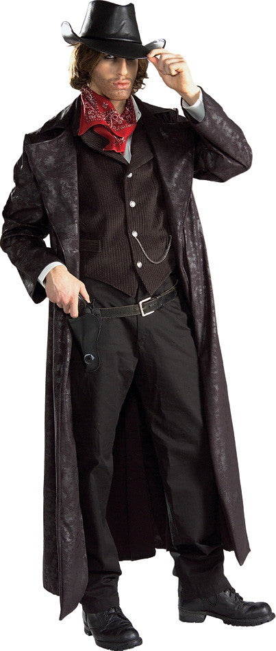 GUNSLINGER COSTUME COLLECTOR'S EDITION, ADULT - SIZE STD