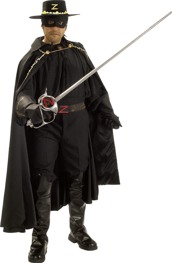 ZORRO COLLECTOR'S EDITION COSTUME, ADULT - SIZE XL
