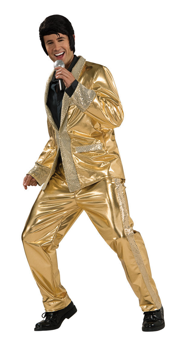ELVIS GOLD SUIT COLLECTOR'S EDITION- SIZE S