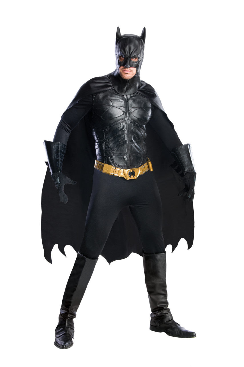 BATMAN DARK KNIGHT COLLECTABLE COSTUME, ADULT - SIZE L
