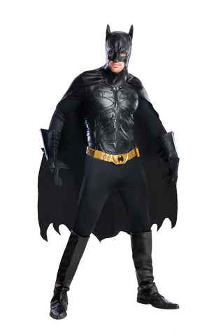 BATMAN DARK KNIGHT COLLECTABLE COSTUME, ADULT - SIZE S