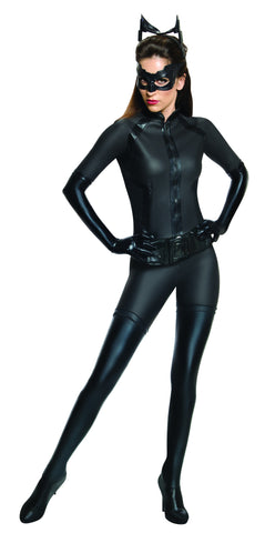 CATWOMAN PREMIUM COLLECTABLE COSTUME, ADULT