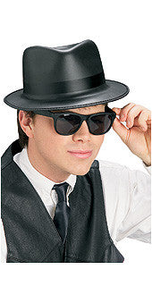 BLUES BROTHERS HAT AND GLASSES SET, ADULT