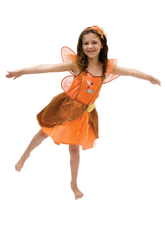FAWN CRYSTAL FAIRY COSTUME - SIZE 4-6