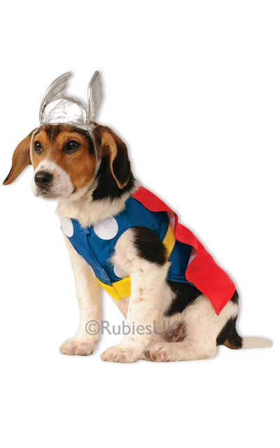 THOR PET COSTUME - SIZE S
