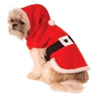 SANTA CLAUS PET COSTUME - SIZE S