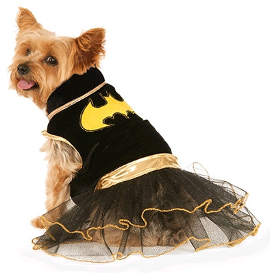 BATGIRL PET TUTU DRESS - SIZE S