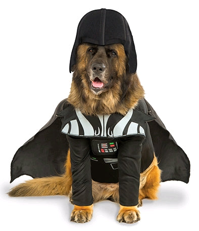 DARTH VADER PET COSTUME - SIZE XXL
