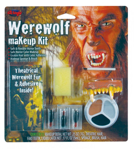 WEREWOLF CHARACTER MAKEUP KIT, ADULT