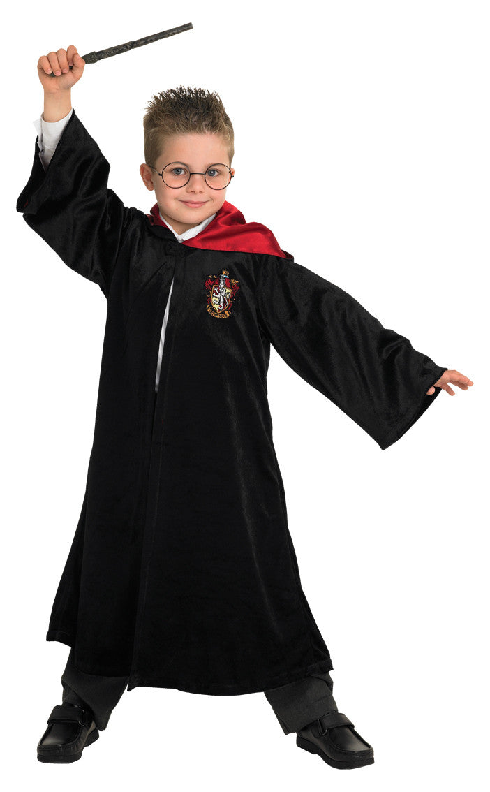 HARRY POTTER DELUXE ROBE - SIZE 6+