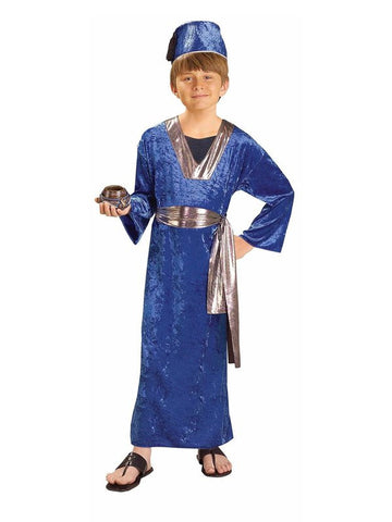 Wiseman Kids Costume In Blue