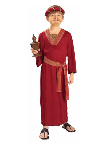 Wiseman Kids Costume In Burgundy