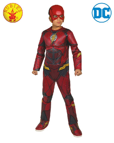 THE FLASH DELUXE COSTUME, CHILD - SIZE S
